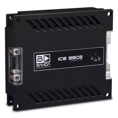 modulo amplificador banda ice 3500w rms 1 canal 2 ohms mono