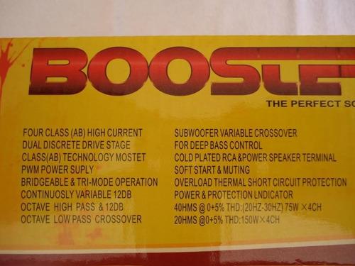módulo amplificador booster