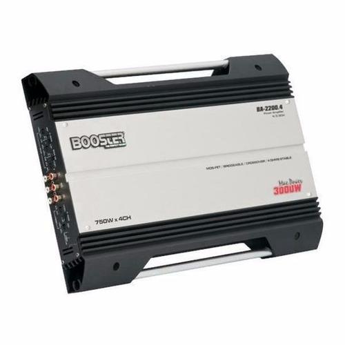 módulo amplificador booster ba-2200 1500rms stereo/mono 4ch