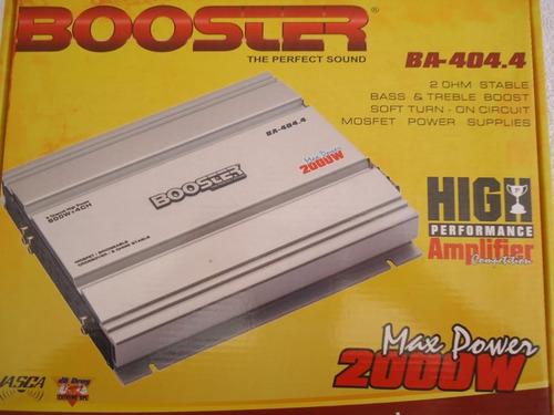 módulo amplificador booster ba 404.4 800rms mosfet 04ch ab