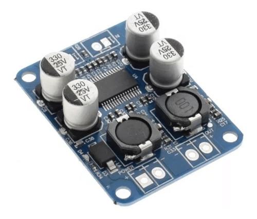modulo amplificador de audio mono 60w tpa3118 de 10 a 24vdc