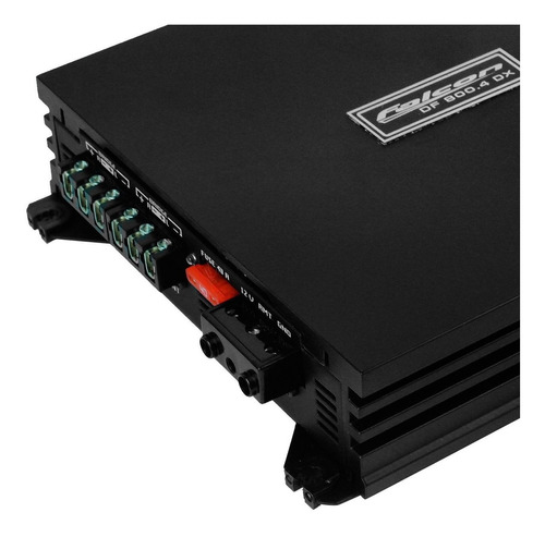 modulo amplificador digital 800w rms 4 canais df 800.4dx