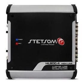 Módulo Amplificador Digital Hl800.4 800w 4 Canais 2 Ohms