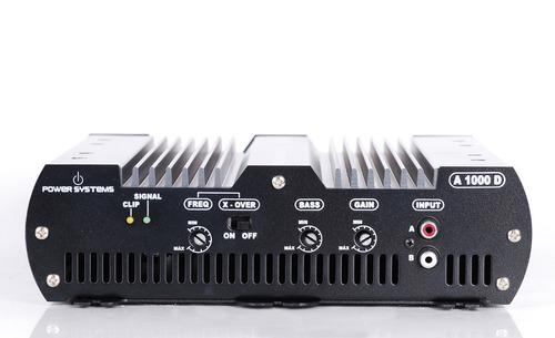 módulo amplificador digital power systems a1000 d 2 canais