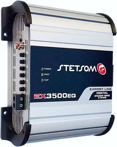 módulo amplificador ex 3500 stetsom 3k3 eq 4000w rms taramps
