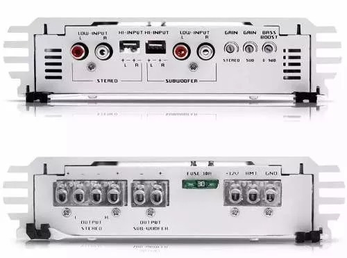 modulo amplificador - falcon hs1500 3 canais 2 stereo 1 mono