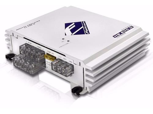 modulo amplificador hs 600 falcon 4 canais stereo