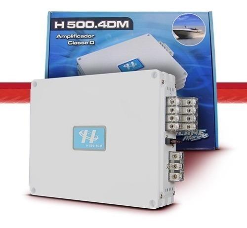 módulo amplificador hurricane h500.4dm 400 w rms 4 canais