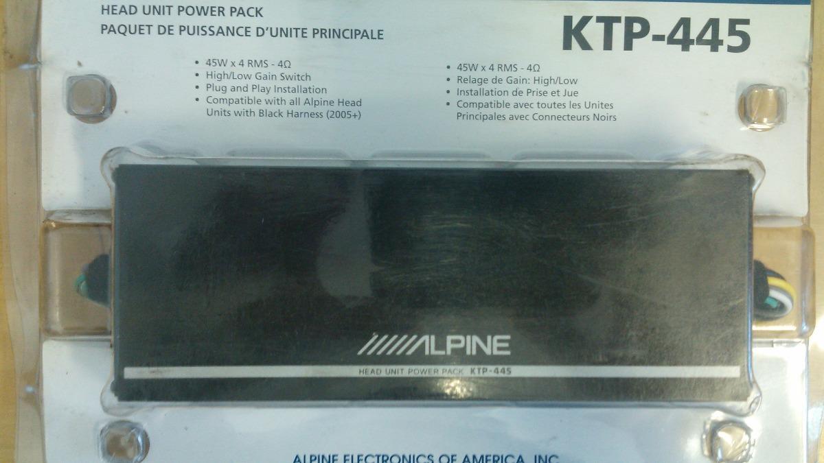 Modulo Amplificador, Para Carro, Alpine Ktp-445u - R$ 598,90 em ...