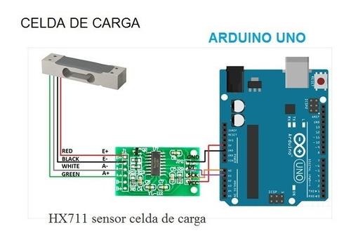 módulo amplificador para celda de carga hx711 arduino