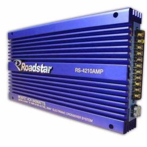 módulo amplificador roadstar rs-4210amp 840 watts 4 channal