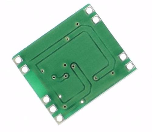 módulo amplificador som estéreo 2ch 3w + 3w pam8403 arduino
