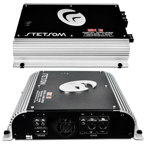 módulo amplificador stetsom 5k eq 5300w rms + controle