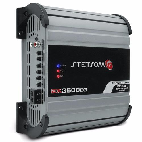 modulo amplificador stetsom ex3500 3500w 2ohm barato taramps