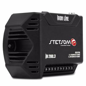 Módulo Amplificador Stetsom Iron Line Ir280.3 280w 3 Canais