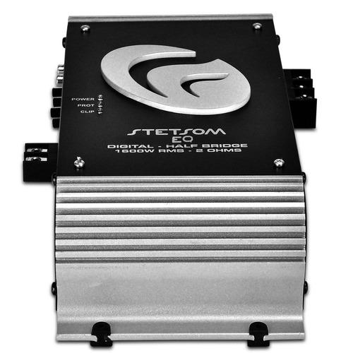 módulo amplificador stetsom vulcan 1k6 es 1600w rms 2 ohms