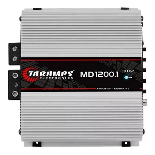modulo amplificador taramps hd md 1200 w rms reais digital