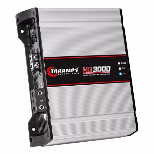 módulo amplificador taramps hd3000 digital 3000w dsp3000 top
