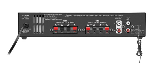 modulo amplificador taramps home ths 1800 80w rms residencia