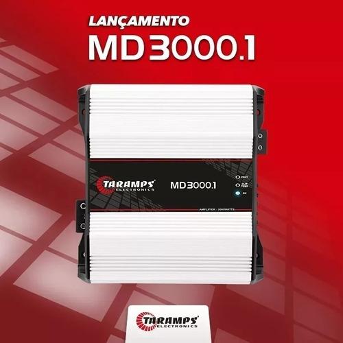 módulo amplificador taramps md-3000 w rms 1 ohms