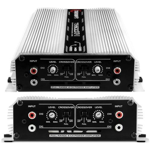 módulo amplificador taramps ts-600 rca + controle tlc-3000