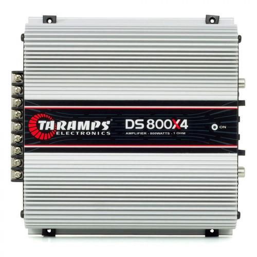 modulo amplificador taramps ts-800 x4 800w rms rca ds-800