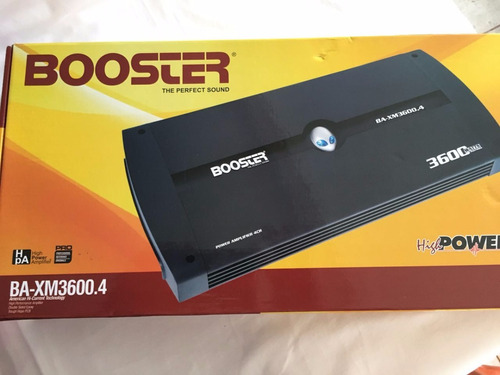 módulo amplificar booster ba 3600.4ch mono stereo ab mosfet