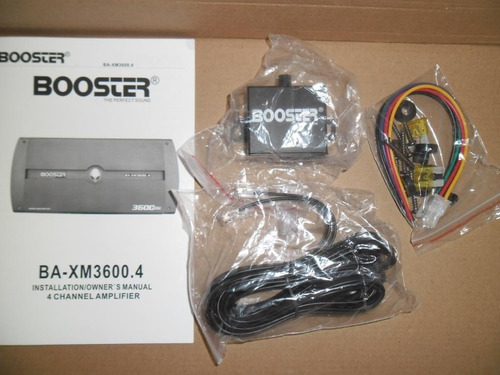 módulo amplificar booster ba 3600.4ch mosfet mono stereo ab