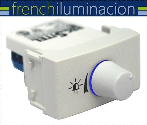 módulo atenuador led 100 watt dimmer regulador 8701 bauhaus