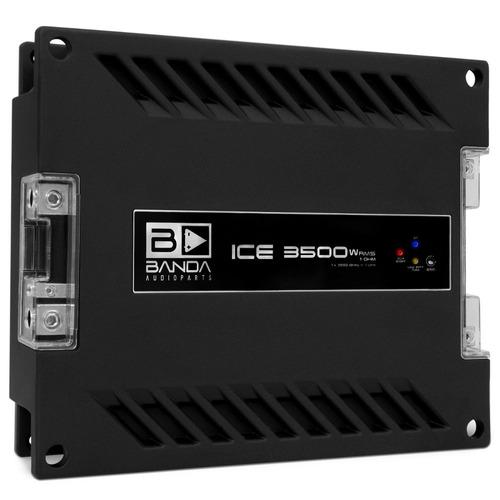 modulo banda ice 3500w rms 1 ohm 1 canal mono digital