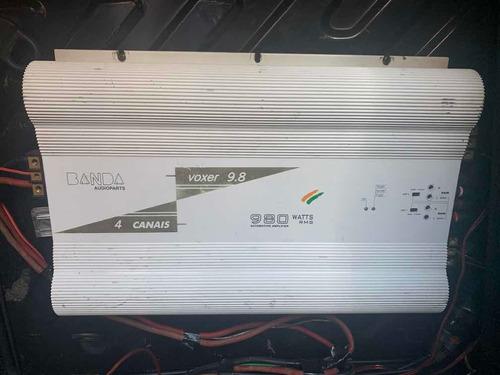 módulo banda voxer 9.8 4 canais 980 watts rms
