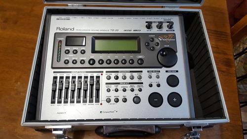 modulo batería electrónica  roland td-20.  como nueva
