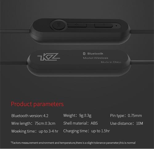 módulo bluetooth para audifonos kz zs3 zs5 zs6 tipo a +envio