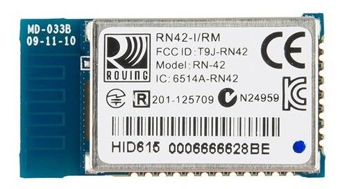 módulo bluetooth rn42 para arduino, raspberry, pic