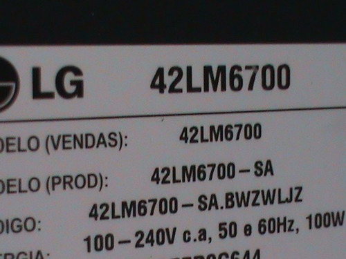 modulo bluetooth tv led lg 42lm6700