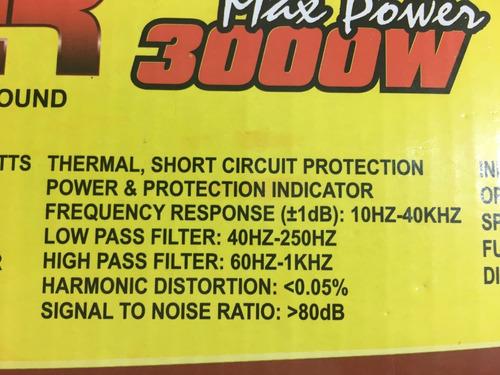 módulo booster amp. 3000w