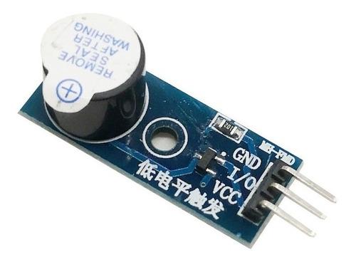 modulo buzzer activo 3v3 5v zumbador arduino