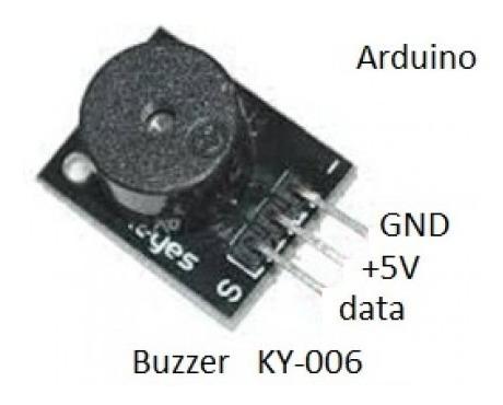 modulo buzzer ky-006 (hw-508) zumbador arduino