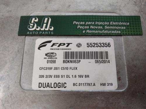 modulo cambio fiat 1.6 16v flex dualogic  55253356