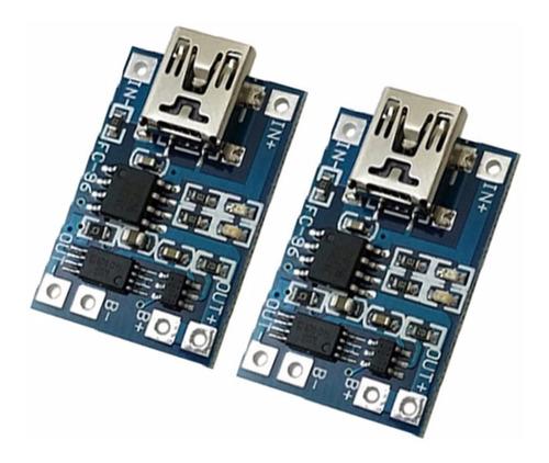 modulo cargador de bateria micro usb 5v 1a 18650 tp4056