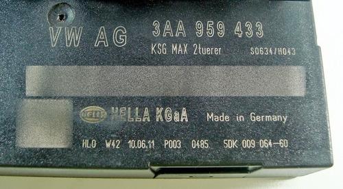 modulo central conforto original 3aa959433 p vw passat 2012
