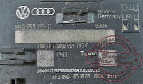 modulo central conforto original 8k0959795c para audi q5
