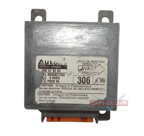 modulo central d air bag cod 9633621280 para peugeot 306
