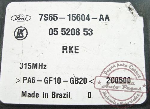 modulo central d conforto 7s6515604aa p ford fiesta ecosport