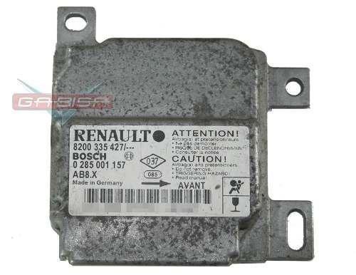 modulo central de air bag 8200335467 p renault clio 07 012