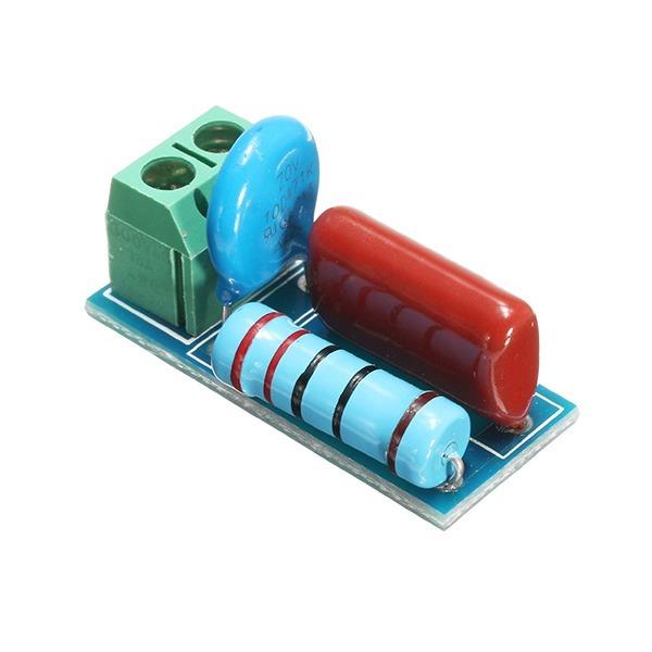 Circuito Rc : Modulo circuito rc prot. relés e tiristores kit 5 unidades r$ 50