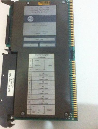 módulo clp remota allen bradley plc-5 1771-asb - remote i/o