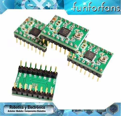 modulo cnc shield v3 + 4x driver a4988 + arduino pololu pic