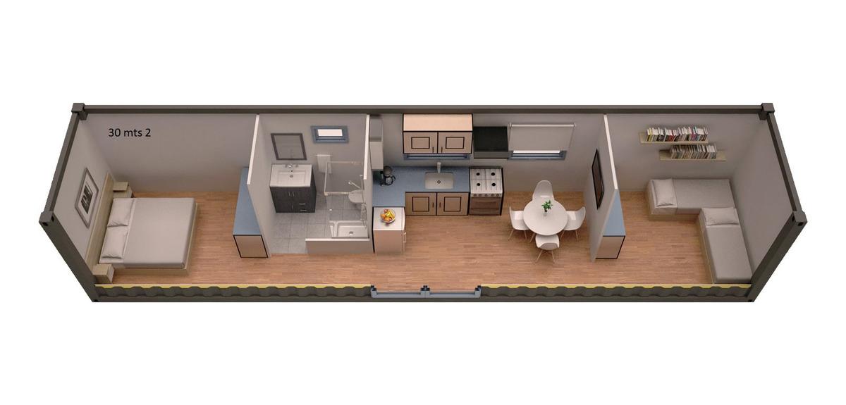 modulo complejo cabañas departamento contenedor 34