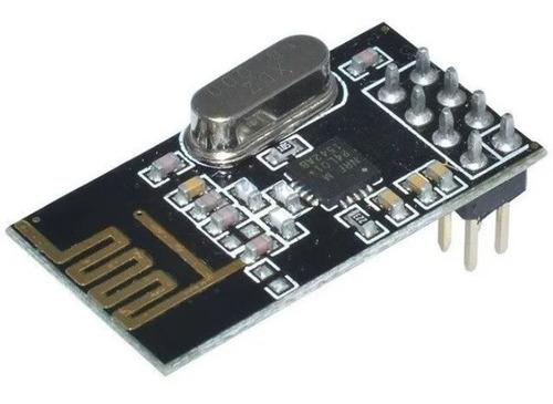 módulo comunicación rf 2.4ghz transceptor nrf24l01 p/arduino